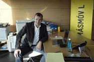Meinrad Spenger, CEO de MásMóvil, en su despacho.