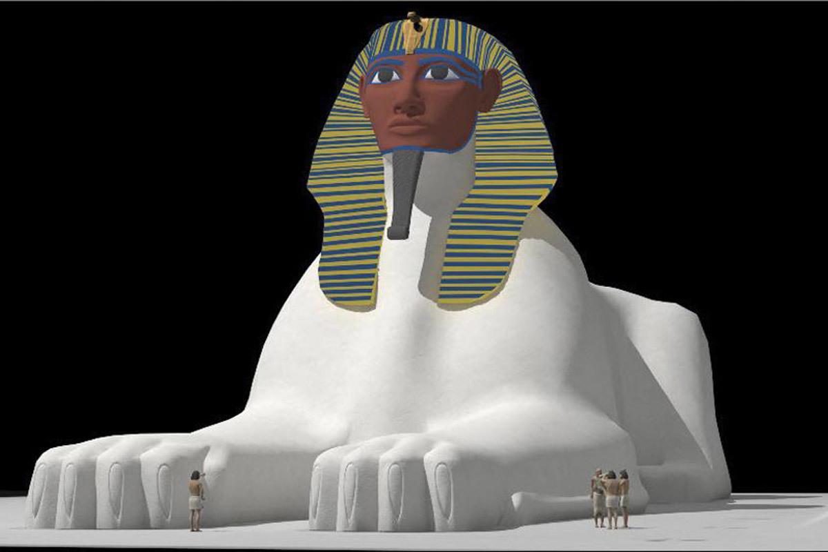 La Gran Esfinge de Guiza.