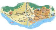 Mapa del extrarradio barcelonés.