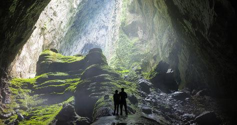 Panorámica de la cueva vietnamita digna de récord.