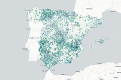 El mapa del riesgo de contagio de coronavirus en España