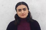 Ashwaq, de 21 años, fue secuestrada por el Estado Islámico.
