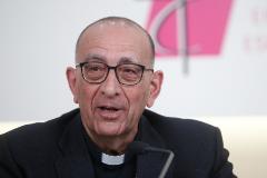 El cardenal Juan José Omella, nuevo presidente de la Conferencia Episcopal Española.