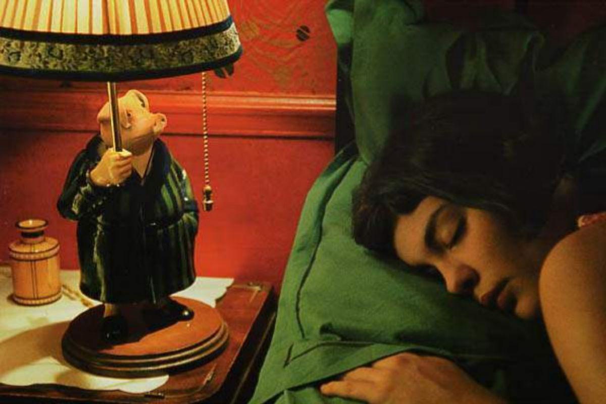 Lámpara de 'Amelie'.
