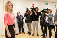 La portavoz del PP en el Congreso, Cayetana Álvarez de Toledo, este miércoles, en la IV Edición 'Yo Dona Working Woman', en Madrid.