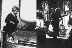 Fotografías de una de las hermanas condenadas, usadas como pruebas en el juicio.