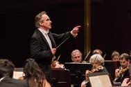 James Conlon, al frente de la Orchestra Sinfonica Nazionale della RAI.