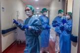 Alessandra, auxiliar sanitaria contagiada de coronavirus.