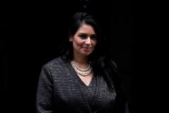 La secretaria del Interior británica, Priti Patel.