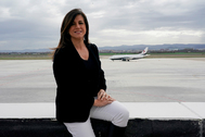 """Begoña Llarena, la primera mujer en dirigir un aeropuerto en España: """"Mi día a día es darlo todo"""""""