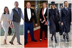Los Reyes de España, los príncipes de Mónaco y los príncipes de Liechtenstein.