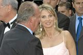 La empresaria alemana Corinna zu Sayn-Wittgenstein, con Juan Carlos I, en 2006.
