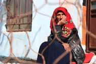 Una mujer afgana en Kabul.