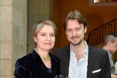 Assumpta Serna y su marido, Scott Cleverdon, con quien contrajo matrimonio hace 27 años.