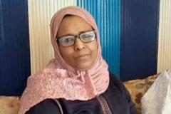 Habiba Hanine, la segunda espsa de Abda Aabdelmalec.