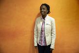La doctora Irene Kyamummi, en Madrid.