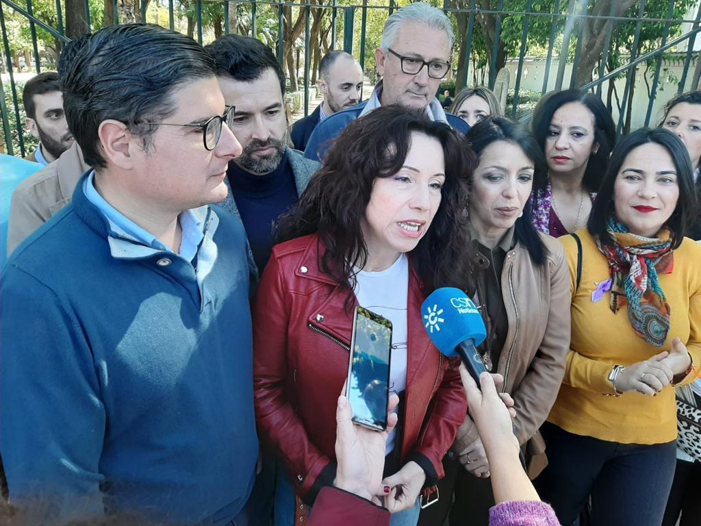 La consejera de Igualdad de la Junta, Rocío Ruiz.   Silvia Moreno