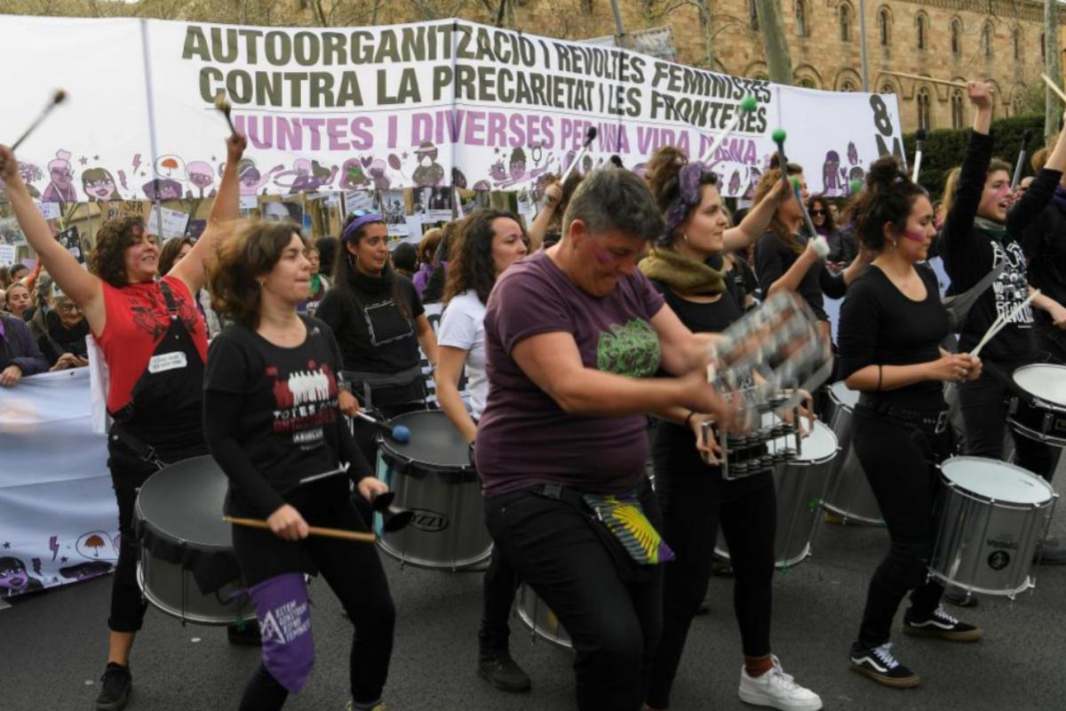 Marcha de Barcelona.   LLUIS GENE / AFP