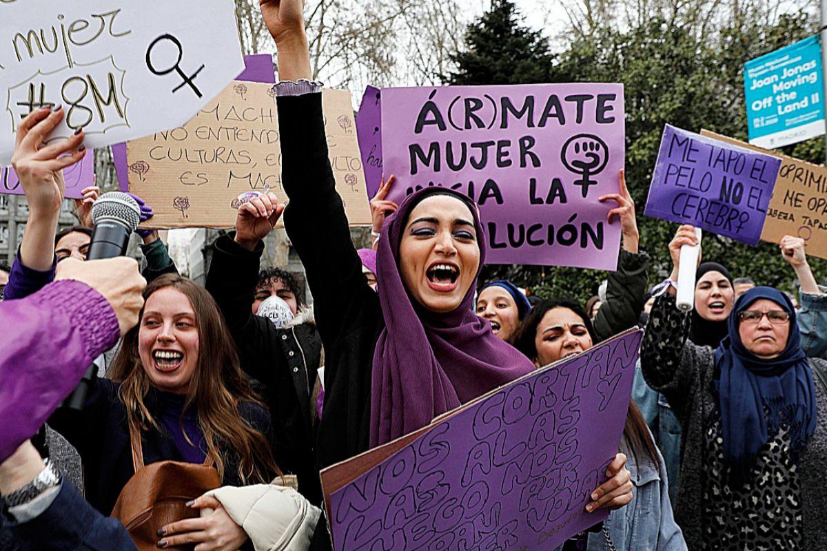 Revuelta feminista en Madrid: ni solas, ni borrachas contra el machismo