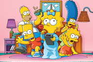 'Los Simpson', una de las series del catálogo de Disney+.