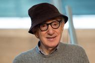 Woody Allen, el verano pasado en San Sebastián.