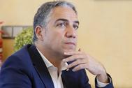 El portavoz del Gobierno andaluz, Elías Bendodo, este martes.