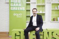 El candidato a lehendakari de Equo Berdeak José Ramón Becerra.
