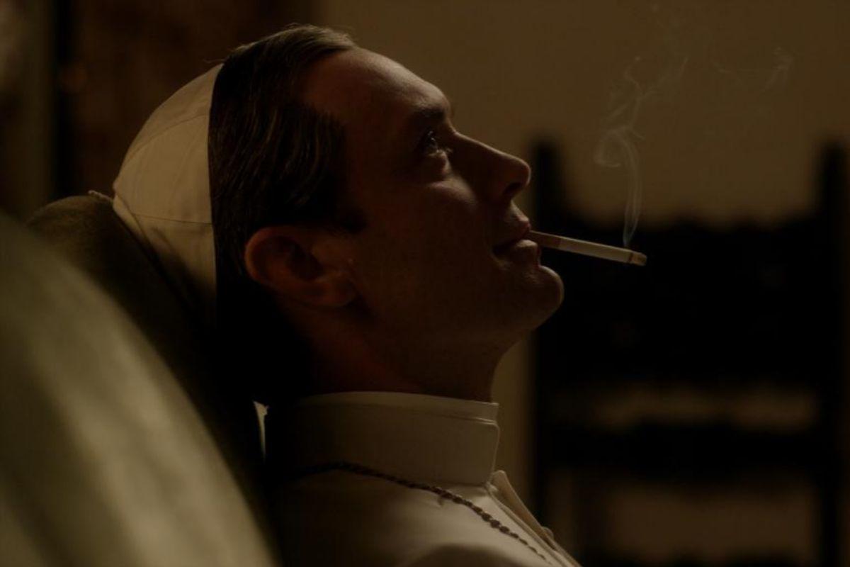 Jude Law en 'El joven Papa', de Paolo Sorrentino.