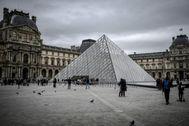 El Louvre, el pasado 28 de febrero.