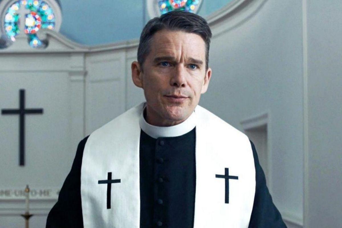 Ethan Hawke en 'El reverendo'.