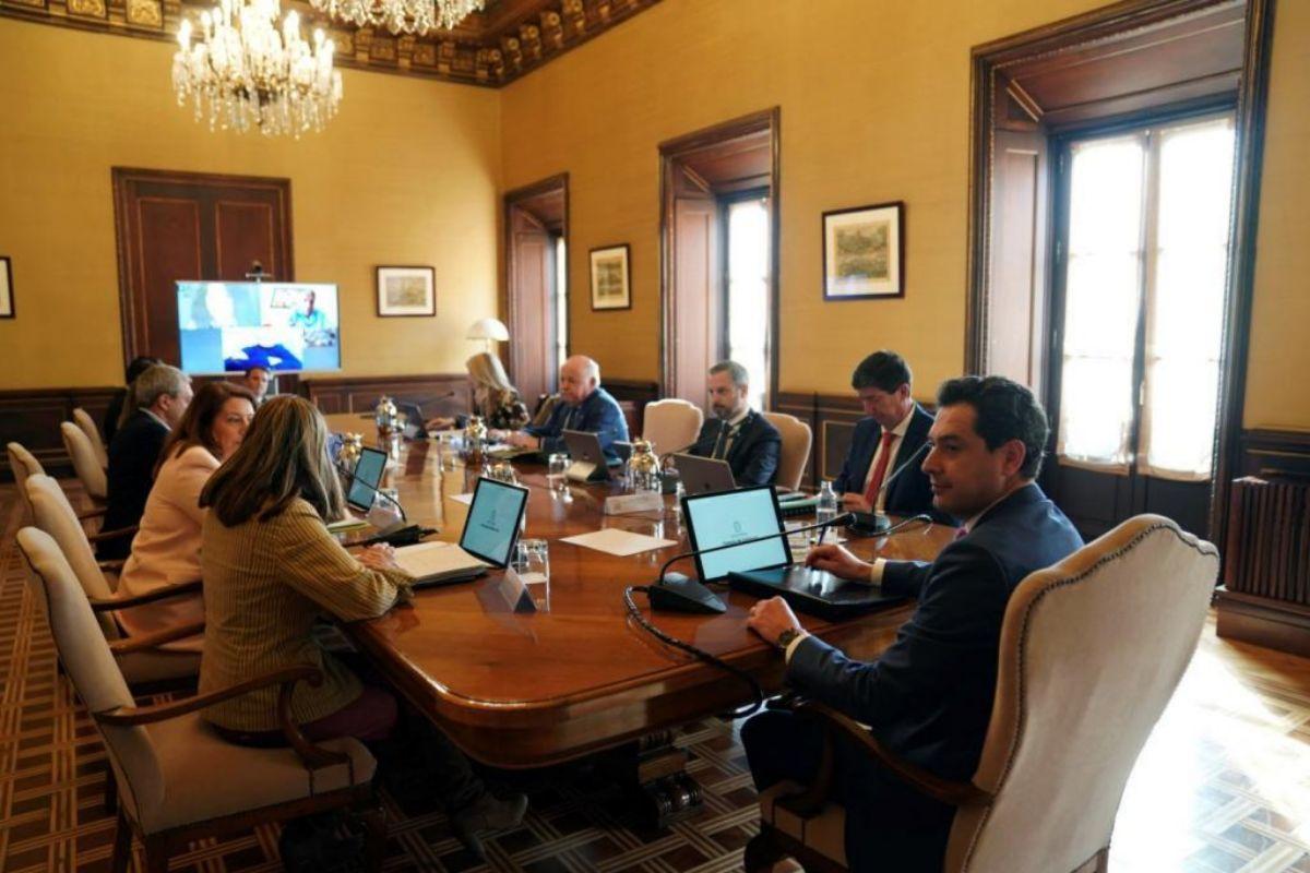 Reunión este viernes del Consejo de Gobierno en sesión extraordinaria en San Telmo.