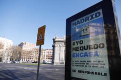 El coronavirus 'cierra' Madrid