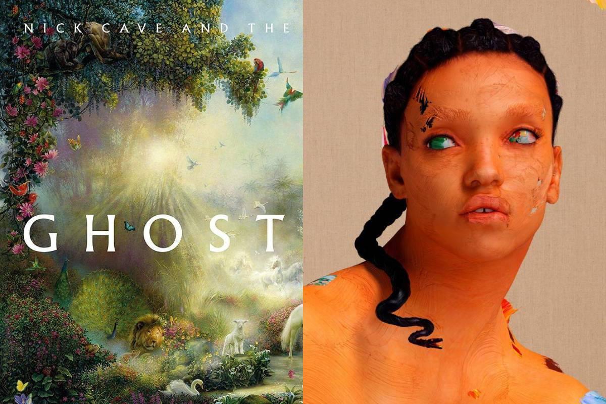 'Ghosteen' de Nick Cave & The Bad Seeds y 'Magdalene' de FKA Twigs, ambos de 2019.