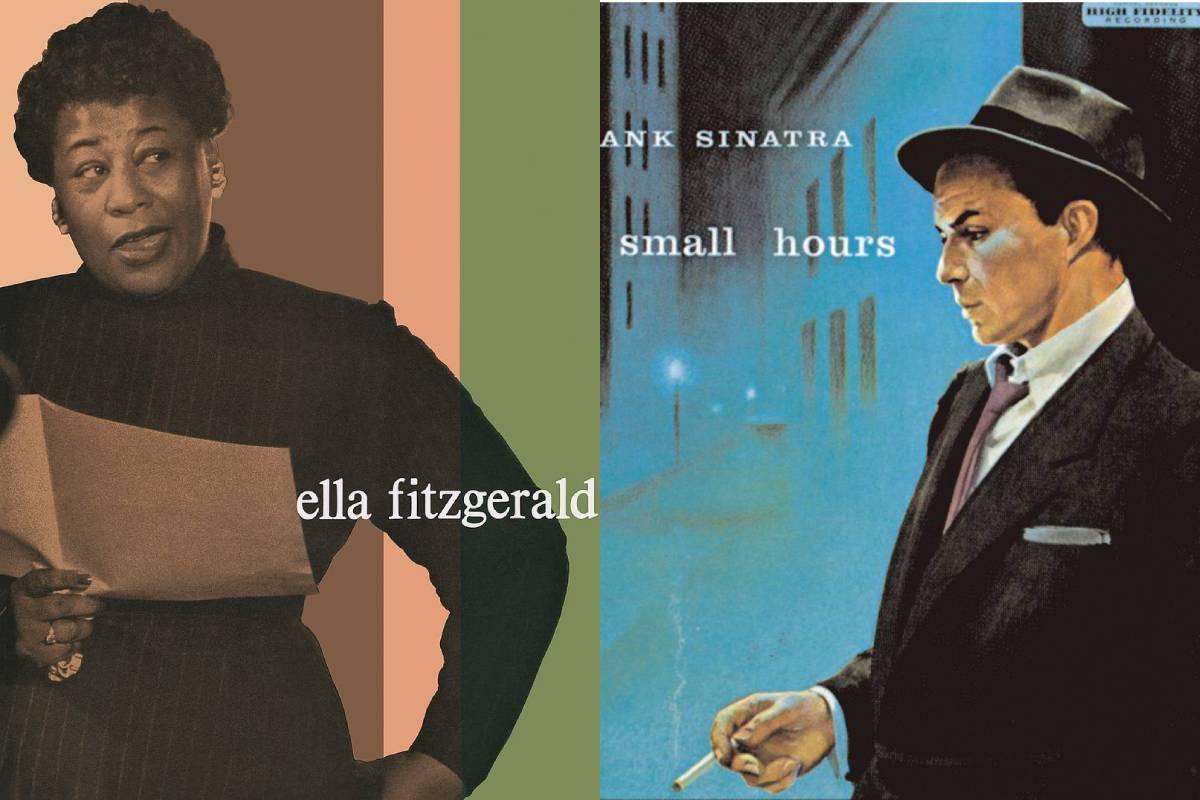 El álbum de Ella Fitzgerald sobre el repertorio de Cole Porter y 'In the wee small hours of the morning' de Frank Sinatra.
