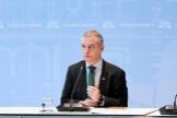 El lehendakari junto al comité asesor en la nueva situación de alerta sanitaria en Euskadi.