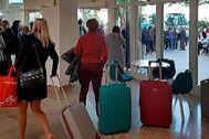 Turistas del Imserso en Ibiza se vieron obligados a regresar antes de tiempo.