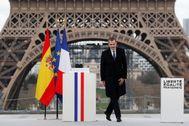 Felipe VI, el pasado 11 de marzo en París.