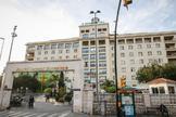 Vista general del Hospital Regional de Málaga.