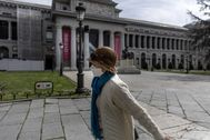 El Prado, cerrado, el viernes pasado.