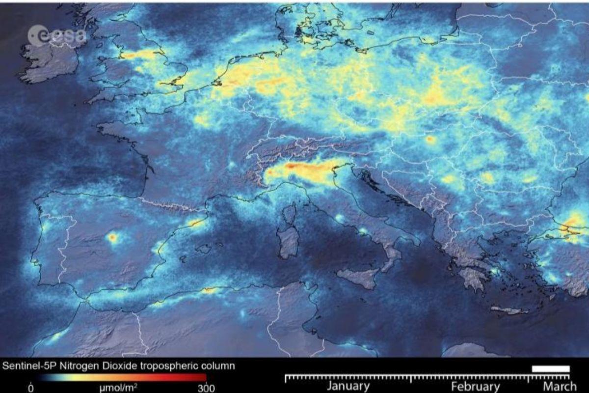 Niveles contaminantes el pasado 11 de marzo