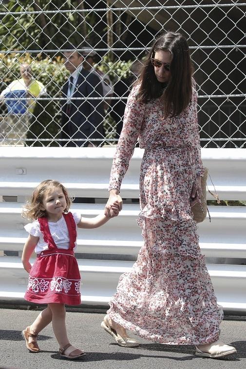 La reina del estilo boho, Tatiana Santodomingo con su hija. GTRESONLINE.