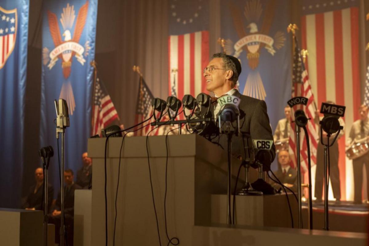 El actor John Turturro, en la serie 'La conjura contra América'