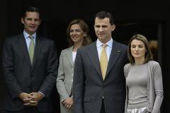 La Infanta Cristina y el entonces Príncipe Felipe, en una imagen de archivo.