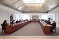 Consejo de Ministros del pasado domingo en el Palacio de la Moncloa.