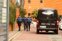 16/03/2020.Foto Javier lt;HIT gt;Barbancho lt;/HIT gt;.Madrid. Comunidad de Madrid. Madrid CORONAVIRUS 6 dia maxima alarma 19 muertos en residencial Monte Hermoso