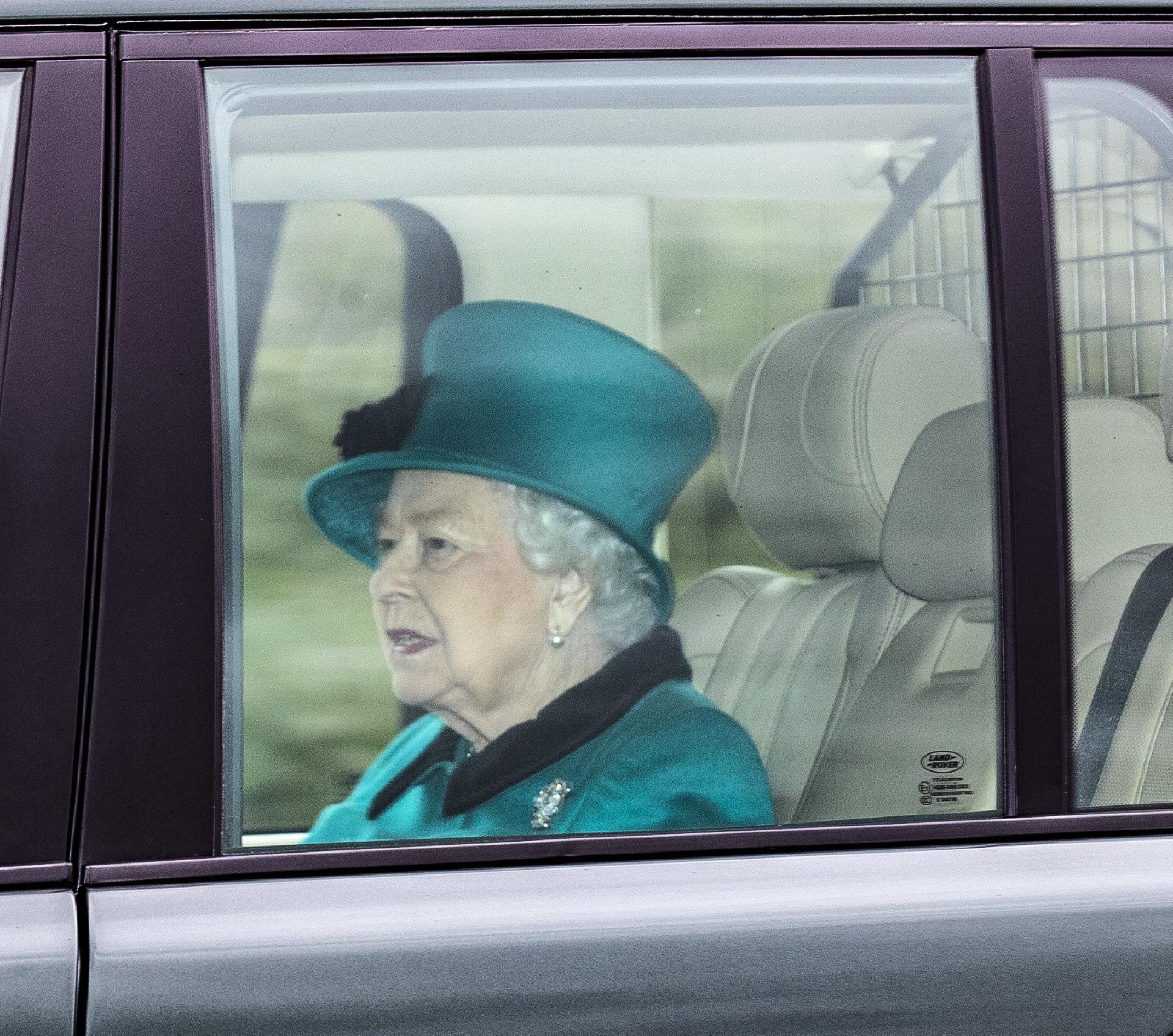 La reina, el pasado fin de semana, en  Windsor.