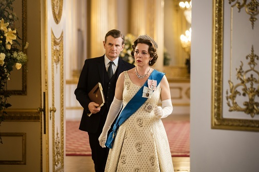 Un fotograma de  'The Crown'