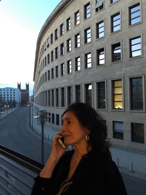 Carmen Valero en Berlín.