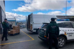La confiscación de la fábrica de mascarillas de Jaén deja desabastecida a la sanidad andaluza