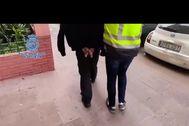 Imagen de la operación policial